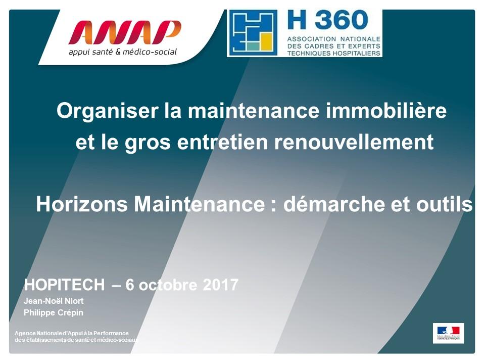 Veille règlementaire (Outil ANAP , Horizon maintenance et GER réglementation des schémas électriques)