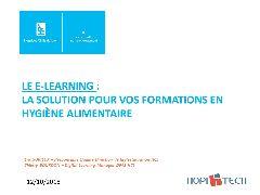 Session Restauration - Elearning - retour d'expérience des Hospices Civils de Lyon