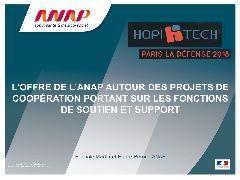 Introduction - L'offre de l'ANAP autour des projets de coopération portant sur les fonctions de soutien et support